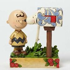 Peanuts Good man Charlie Brown Figurine By Jim Shore 15cm Boxed