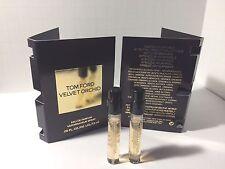2 X Tom Ford VELVET ORCHID Eau de Parfum Spray 1.5 ml Each Sample Size with Card