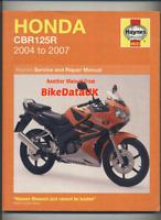 Haynes Manual Honda CBR125R//250R//300R CB300F CRF250 2011-2018 Service