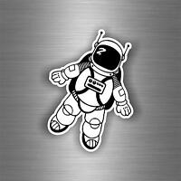 Decal sticker vinyl decor room man astronaut galaxy wall bedroom moon space r1