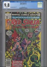 Red Sonja: She-Devil with a Sword #6 CGC 9.8 1977 Marvel Comics Thorne Cover