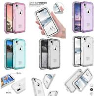 Clear Shockproof Transparent Case For Samsung Galaxy/IPhone [Clip Fits Otterbox]