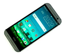 HTC One M8 16GB - Grey (Unlocked) SMASHED SCREEN, WORKS PERFECTLY 112