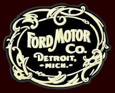 """FORD MOTOR CO. EMBROIDERED PATCH ~3-5/8""""x 2-7/8"""" MODEL T PICK UP V8 F150 250 350"""