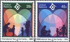 VN - Niew York 661-662 gestempeld 1994 Jaar de Familie