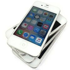 Lot of 4 Apple iPhone 4s - 8GB - White (AT&T) A1387 (CDMA + GSM) MF258LL/A