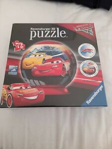3 d Disney Cars 72 piece puzzle from ravensburger. New in original packaging