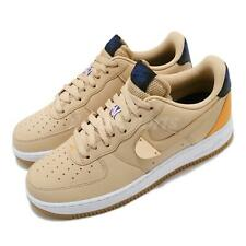 Nike Air Force 1 07 LV8 NBA Sesame University Gold White Gum Men CT2298-200