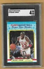 Michael Jordan 1988-89 Fleer Sticker # SGC 4--Bulls
