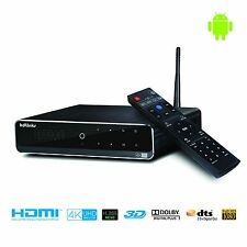 KDLINKS A300 4K Android Quad Core 3D TV Media Player w/ HDD Bay WIFI Gigabit LAN
