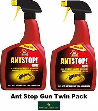 2 x 800ML SCOTTS ANT STOP KILLER RTU PISTOLA BUG INSETTO Giardino Pest Control Spray