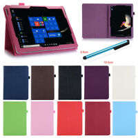 For Microsoft Surface RT Pro 3 4 Go Tablet PU Leather Case Stand Flip Slim Cover