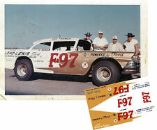 CD_2715 #F-97 Red Farmer  1957-58 Ford 1:25 Scale Decals