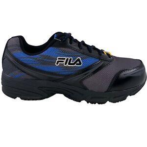 Mens Fila Memory Meiera 2 SR CT Slip Resistant Composite Toe Work Shoes 1LM00118