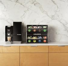 Keurig Premium K-Cup 8 Sleeve Pod Storage Rack - Black/Silver