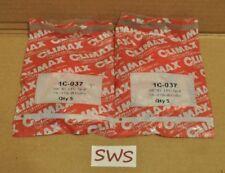 """*NEW LOT OF 10* Climax 1C-037 Steel Shaft Collar 3/8"""" ID 1 PC Split"""