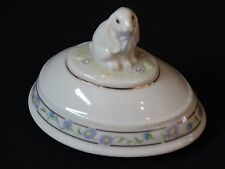 Lenox 1998 Springtime Bunny Easter Egg Limited Edition ~ Top Only
