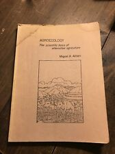 Agroecology by Miguel Altieri 1986 2nd Edition