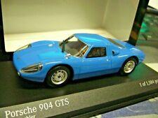 PORSCHE 904 Carrera GTS Coupe blau blue Street 1964 Minichamps PMA 1:43