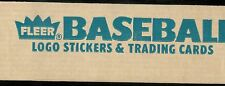 1987 FLEER BASEBALL OPENED HOBBY FACTORY SET 1-660 + WORLD SERIES SET 1-12 +