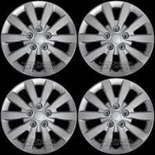 "fits 2013-2018 Nissan Sentra S SV 16"" Wheel Covers Snap On Full Rim Hub Caps R16"