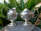 1934 TOWLE Sterling Candlelight 76380 Cream Pitcher and Covered Sugar Bowl