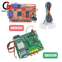GBS8100/GBS8200 Arcade Game HD Video Converter Board RGB CGA/EGA/YUV to VGA Card