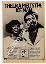 Thelma Houston Jerry Butler LP Advert Black Music Magazine