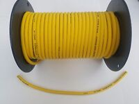7mm COPPER CORE SPARK PLUG WIRE ignition sold by foot SOLID YELLOW Super Stock