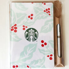 Starbucks Japan HOLIDAY 2018 journal book COFFEE CHERRY with pen