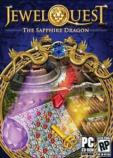Jewel Quest The Sapphire Dragon PC Games Windows 10 8 7 XP Computer match three