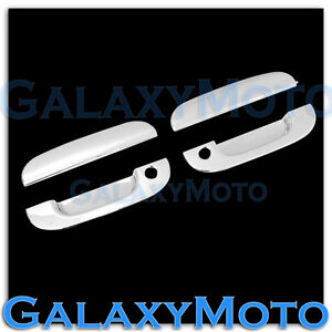 Chrome 2 Door handle W/PSG Keyhole cover for 94-01 Dodge Ram 1500+2500+3500
