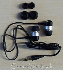 Quality (Vodafone) Universal 3.5 mm Jack Stereo Mobile Phone Head Phones - NEW