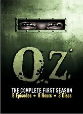 Oz - The Complete First Season (DVD, 2002, 3-Disc Set) NEW Free Shipping SEALED