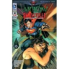Arrow Smallville 4 Nuovo Rw Lion Dc comics NUOVO