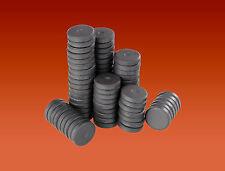 25 ROUND DISC MAGNETI DA 14 MM x3mm FERRITE CERAMICA Disco Magneti per Craft & FRIGO