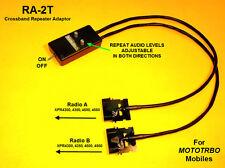 RA-2T Repeater Adaptor Motorola RICK MOTOTRBO XPR XPR4300 XPR4350 XPR4500 4550