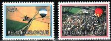 SELLOS AVIACION BELGICA 1983 2094/95 GLOBO AEROSTÁTICO 2v.