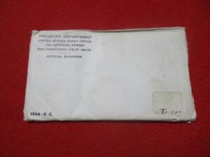 1964 P&D Uncirculated Silver Mint Set   Unopened                      #MF-T1007