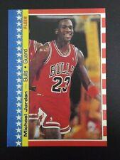 1987 Fleer Basketball Michael Jordan Sticker #2 Chicago Bulls HOF Mint