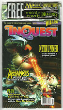 INQUEST #15  MTG Alliances, Middle Earth Dragons, Netrunner - Factory Sealed NOS