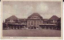 Germany AK Halberstadt - Schule 1955 postcard