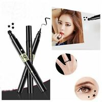 Double Tête Imperméable Liquide Eyeliner Tatouage Timbre Eyeliner Maquillage