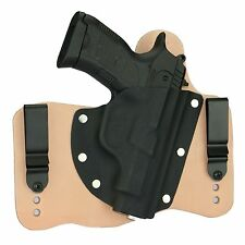 FoxX Leather & Kydex IWB Hybrid Holster SAR B6P Natural/Tan Right draw Tuckable