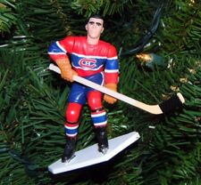 maurice RICHARD montreal CANADIENS hockey TREE xmas NHL ornament HOLIDAY jersey