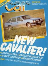July Monthly Cars, 1980s Transportation Magazines