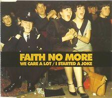 Maxi CD - Faith No More - We Care A Lot / I Started A Joke - #A2046