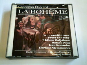 Opus CD - La Boheme - signiert von Peter Dvorsky