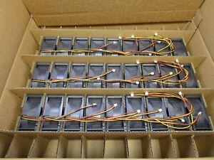 (27 NEW) San Ace 9G0824H1D05 80x80x38mm DC 24V 0.42A 4 Pin Chassis Cooling Fan