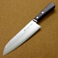 Japanese Miyabi Isshin Kitchen Santoku Knife 170mm 6.7 inch 3 Layers SEKI JAPAN
